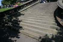 East Princes St Gdns central steps L