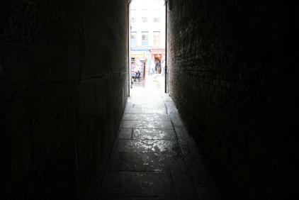 Stevenlaw's Close alley L